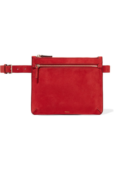 Theory - Suede Belt Bag - Red
