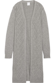 Madeleine Thompson Cable-knit wool and cashmere-blend cardigan