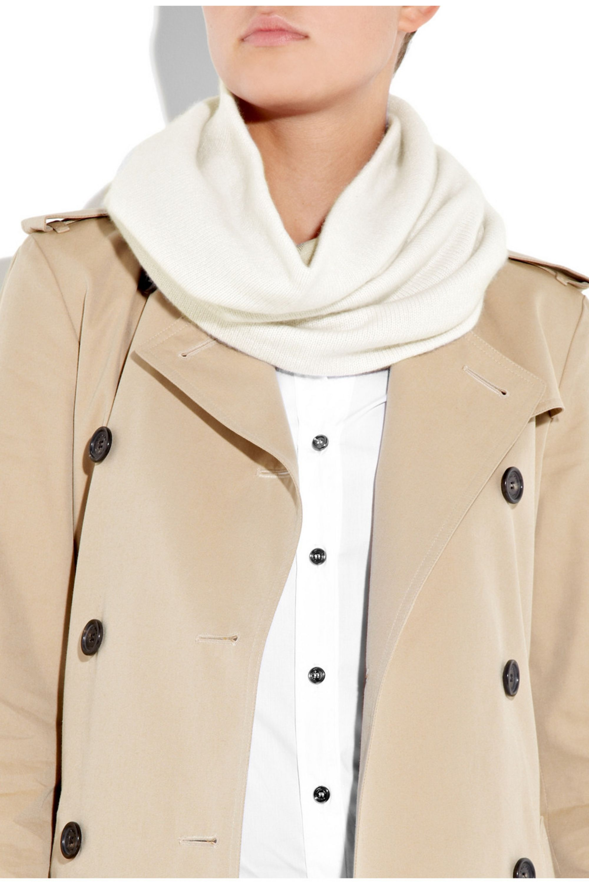 Burberry Shoes & Accessories Reversible cashmere snood