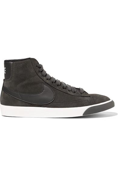 en ligne exclusif choix à vendre Nike Chaussures En Daim Blazer Garnis De Cuir Mi Vintage nouveau jeu SAST pas cher tAz2DJke