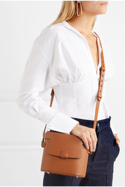 Frerea leather shoulder bag