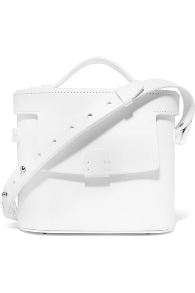 Nico Giani - Frerea Leather Shoulder Bag - White