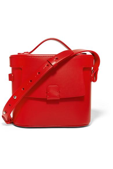 Nico Giani - Frerea Leather Shoulder Bag - Red