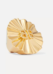 Balenciaga Gold-tone ring