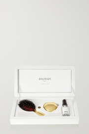 Mini Gold-Tone Spa Brush Set