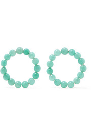 Holiday amazonite earrings