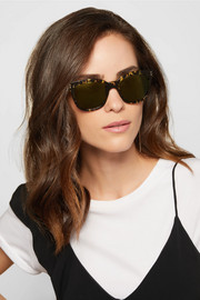 Victoria Beckham The VB D-frame acetate sunglasses