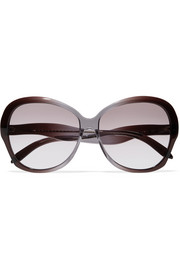 Happy Butterfly square-frame acetate sunglasses