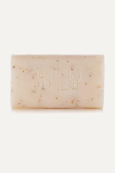 Rough Cut Bath Soap - Almond Exfoliant, 210G, Colorless