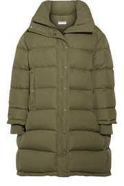 Balenciaga Oversized quilted shell down coat