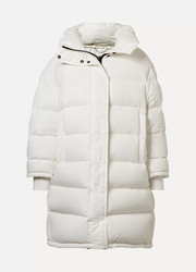 Balenciaga Oversized printed quilted shell down coat