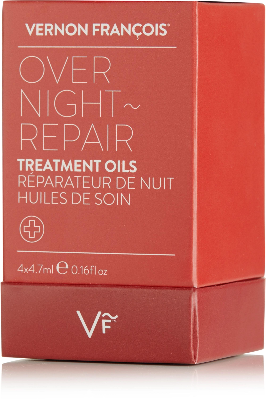 Vernon François Overnight Repair Treatment Oils, 4 x 4.7ml
