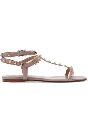 Valentino The Rockstud leather sandals