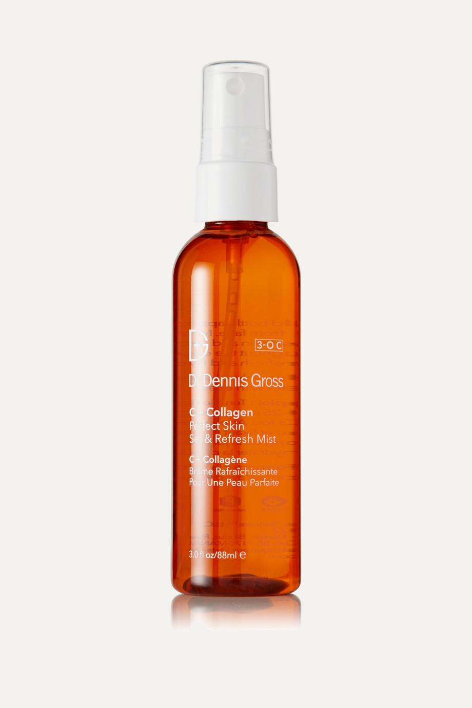Dr. Dennis Gross Skincare C + Collagen Perfect Skin Set & Refresh Mist, 88 ml – Gesichtsspray