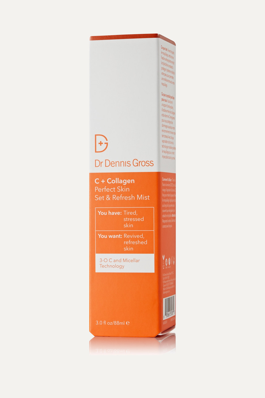 Dr. Dennis Gross Skincare C + Collagen Perfect Skin Set & Refresh Mist, 88ml