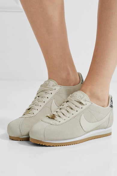 timeless design 680dd 8ff78 + A.L.C. Classic Cortez suede sneakers