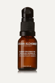 Grown Alchemist Blemish Treatment Gel: Salix-Alba & Boswellia, 15ml
