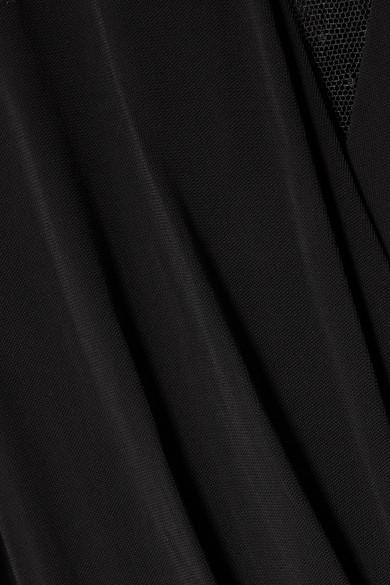Footlocker Billig Geniue Händler MICHAEL Michael Kors Jumpsuit aus Stretch-Jersey und Point d'Esprit-Tüll Neueste Online UaUV24lv08