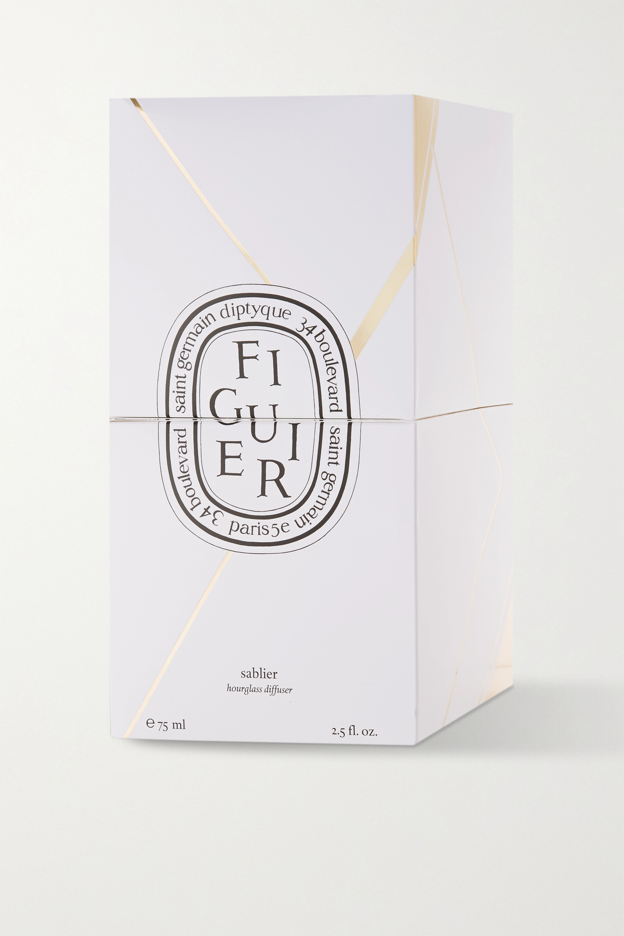 Diptyque Gingembre Hourglass Diffuser, 75 ml – Diffuser