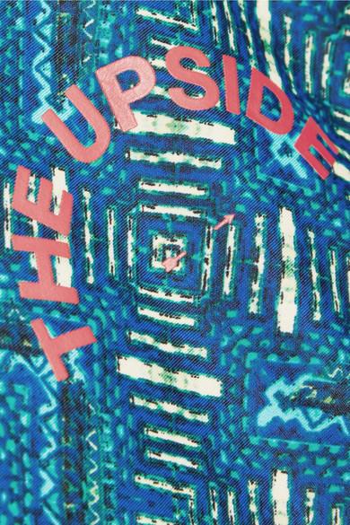 The Upside Casa Azul bedruckter Rashguard