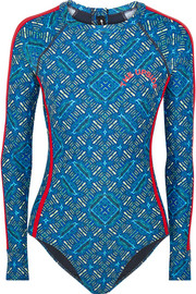 Casa Azul printed rash guard