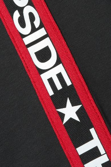 The Upside Star Bound Sweatshirt aus Jersey aus einer Baumwollmischung mit Streifen