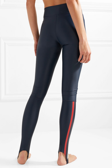 The Upside Leggings Made Of Stretch Material With Stripes And Web