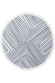 Avalon round cotton-terry towel