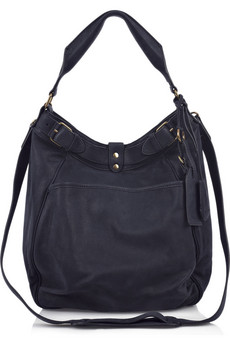 Vanessa Bruno | Slouchy leather hobo bag  | NET-A-PORTER.COM from net-a-porter.com