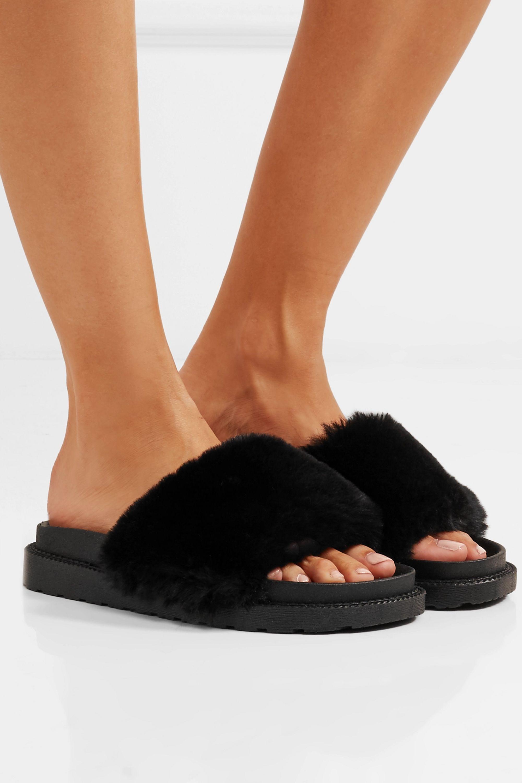 Sam Edelman Blaire faux fur slides