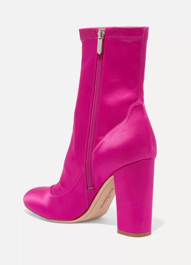 Sam Edelman Calexa Sock Boots aus Stretch-Satin Freie Verschiffen-Spielraum 100% Original Online Neueste Billig Verkauf Finish XVDG7UQoB