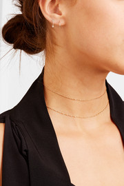 Sweet Nothing 14-karat gold choker