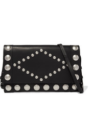 Isabel Marant Nicia studded leather shoulder bag
