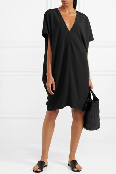 HATCH Slouch Kleid aus Crêpe