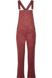 Cotton-corduroy overalls