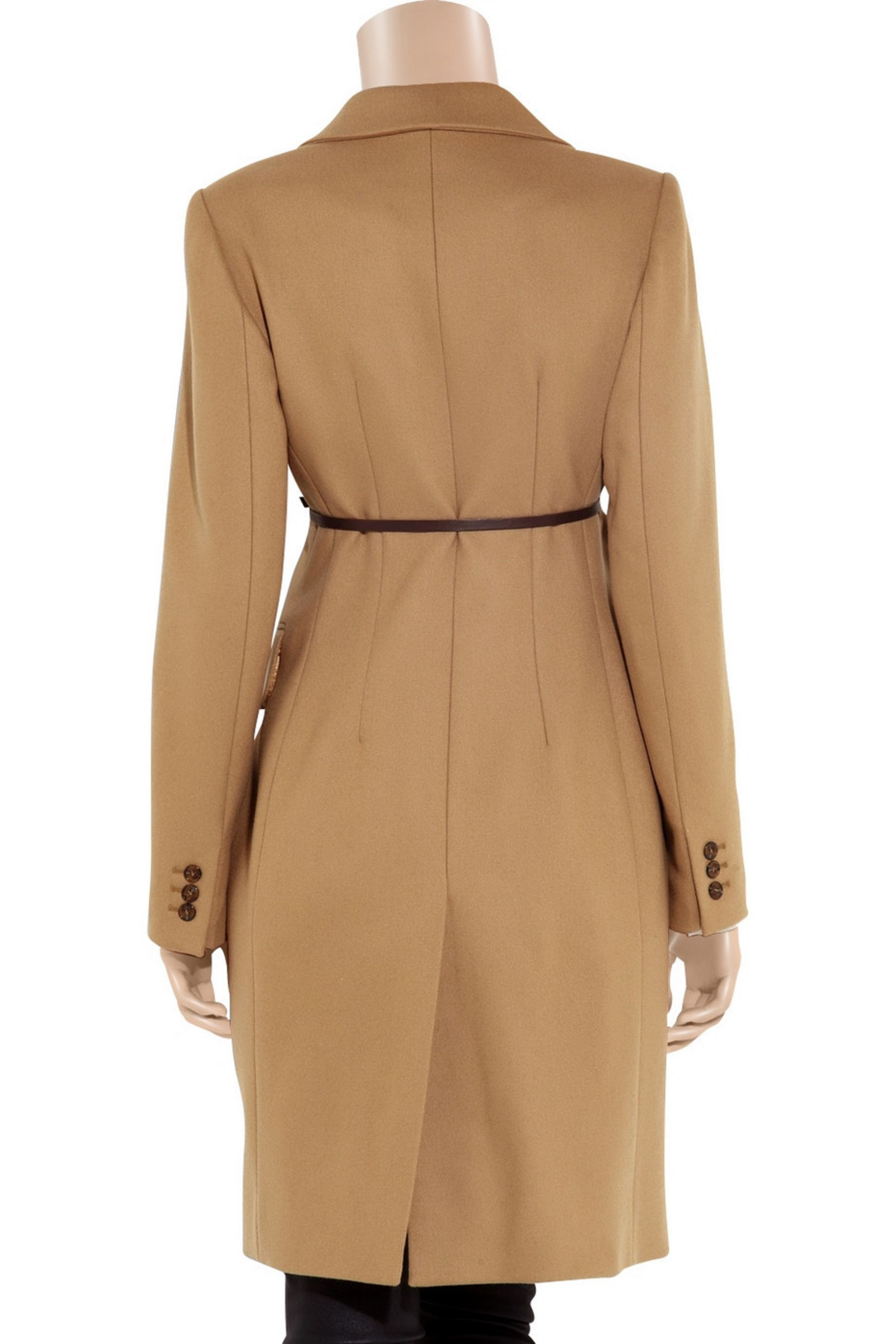 Carven Double-breasted wool-blend coat