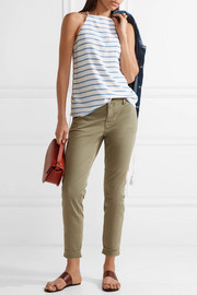 J Brand Josie stretch cotton-blend twill skinny pants