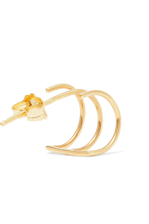 Beaufille Ringlet 10-karat gold earring