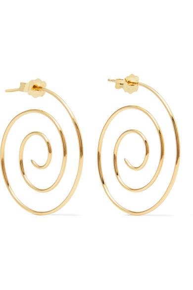 Spiral 10-karat Gold Earring - one size Beaufille NVTkirKA5Y