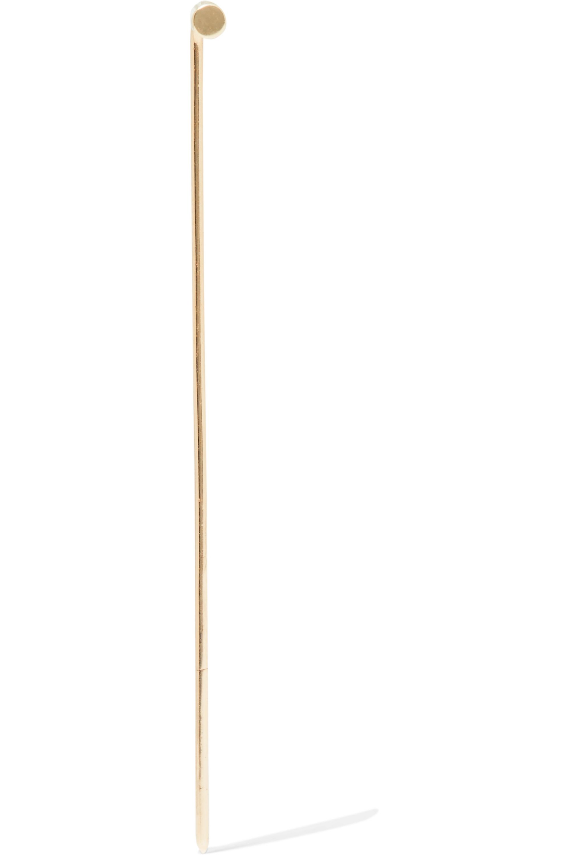 Beaufille Pistol 10-karat gold earring