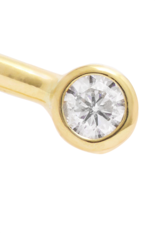 Beaufille Pistol 10-karat gold diamond ring