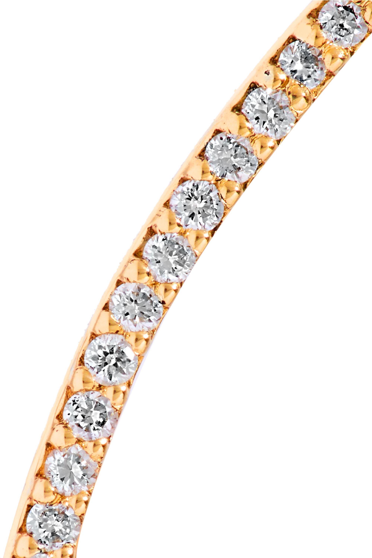 Beaufille Easy Rider 10-karat gold diamond earring