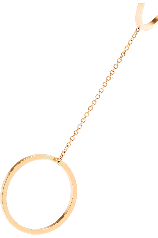 Beaufille Parallel Lines 9-karat gold ring