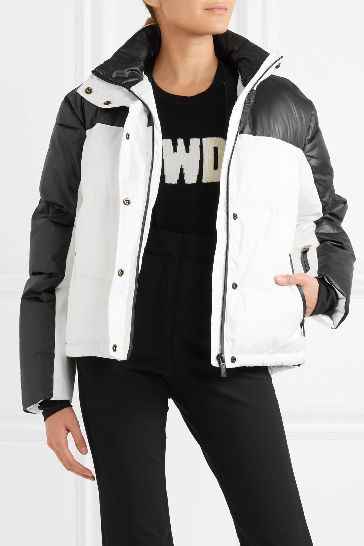 Topshop Sno Siren hooded faux fur-trimmed ski jacket