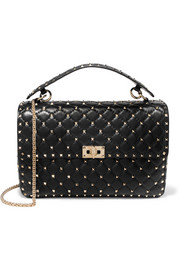 The Rockstud Spike large quilted leather shoulder bag