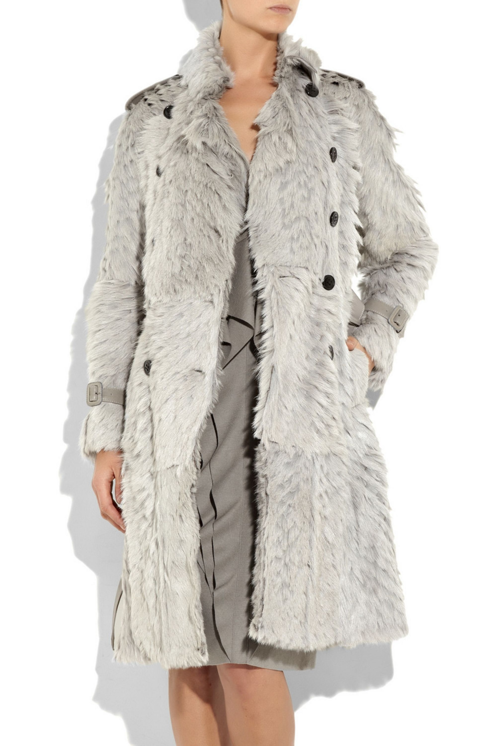 Burberry Goat hair trench coat