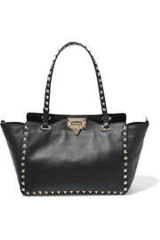 The Rockstud Tote aus Leder