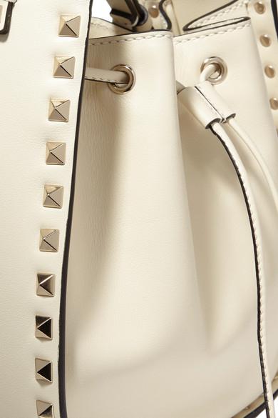 Valentino Rockstud Beuteltasche aus Leder
