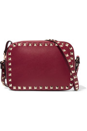 Valentino The Rockstud leather camera bag