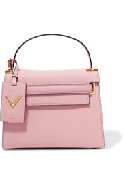 Valentino My Rockstud medium textured-leather tote